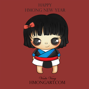 background-short-hair-hmonggy-HmongArt